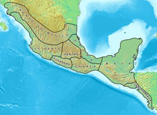 Pic 1: Mesoamerica divided into geographic sub-regions. The northernmost and southernmost sub-regions are buffers not part of Mesoamerica proper