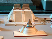 Pic 10: Reconstruction of the Templo Mayor at the Aztec capital of Tenochititlan at the Peabody Museum, Harvard University