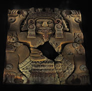 Pic 3: Tlaltecuhtli, the monstrous, devouring Mexica earth deity