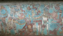 Pic 8: The Battle mural, East Wall, Cacaxtla (fragment)
