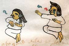 Pic 3: Women mourners, Codex Tudela p. 52