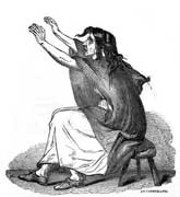 Pic 9: 'The Irish keening woman' - from 'Ireland, Its Scenery, Character, &c', by Mr & Mrs S. C. Hall, circa 1850