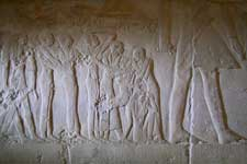 Pic 11: Mourners at the tomb of Mereruka, VI Dynasty, Saqqara, ancient Egypt