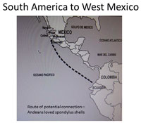Pic 3: Boat Route to West Mexico