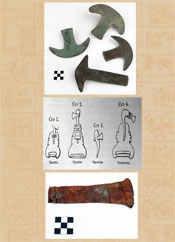 Pic 13: Aztec copper; photos courtesy of the Division of Anthropology, American Museum of Natural History