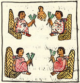 Pic 5: Aztec judges; Florentine Codex, Book 8