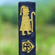Pic 3: Pilgrim path waymarker, Ireland