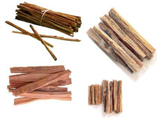 Pic 2: bundles of 'ocote' pine splinters, still used today in Mexico for fire starters