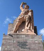 Pic 4: Monument to 'El Pípila', Guanajuato
