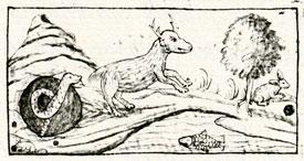 Pic 8: 'Chantli' or cave-as-home; Florentine Codex Book XI