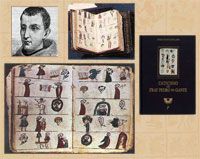 Pic 9: Pedro de Gante (top L), pictorial catechism (Biblioteca Nacional de España) (bottom); facsimile edition (top and R)