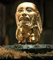 Pic 2: The 'golden idol' from 'Raiders of the Lost Ark'