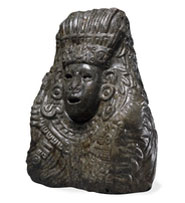 Pic 13: Bust of Quetzalcoatl, British Museum