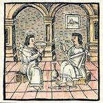Pic 9: Aztec wise men, Florentine Codex Book 10