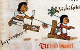 Pic 11: 'La Pintora', Codex Telleriano-Remensis, fol. 30r (detail)