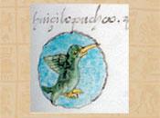 Pic 2: The toponym for Huitzilopochco. Codex Mendoza, fol. 20