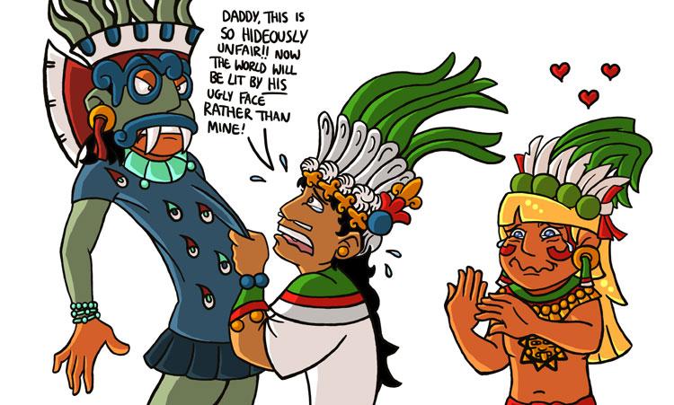 Ancient Aztec Gods Symbols