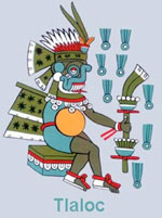 Pic 7: Tlaloc, god of rain
