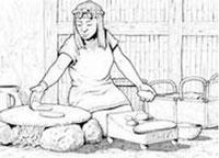 Pic 14: Preparing tortillas