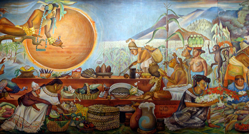 Cacao in ancient maya religion for Ancient mayan cuisine