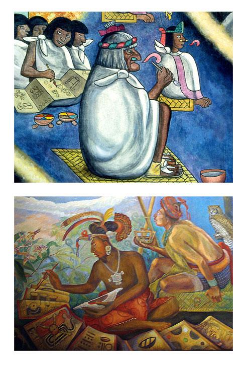 The Aztecs Vs The Maya