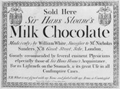 Pic 8: This well known advert is now the subject of debate over the accuracy of the claim of Sloane's 'recommendation' for the product which was owned by the manufacturer who also states his claim of ownership in the small print