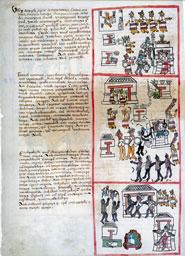 Pic 2: Veintena festivals, Fray Bernardino de Sahagún, Primeros Memoriales