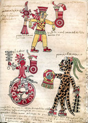 Pic 3: Veintena of Tlacaxipehualizatli, Codex Tudela, late 16th century