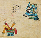 Pic 5: Veintena of Atl Cuauhlo, Codex Borbonicus