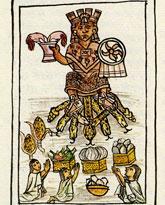 Pic 7: Veintena of Huey Tozoztli, Fray Bernardino de Sahagún, Florentine Codex, Book 2
