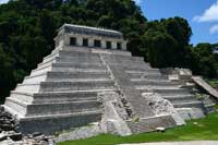 Pic 2: The Temple of the Inscriptions, Palenque