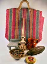 Mexicolore's Chocolate artefacts pack, purchasable for £50