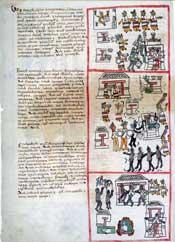 Pic 5: Veintena festivals, Fray Bernardino de Sahagún, 'Primeros Memoriales'
