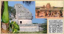 Maya observatory, Maya glyphs
