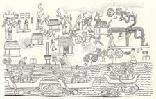 Pic 6: Coastal village life near Chichen Itzá