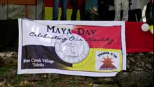 Pic 11: Screen capture of the Maya Day festival in Belize. Video by Genner Llanes-Ortiz