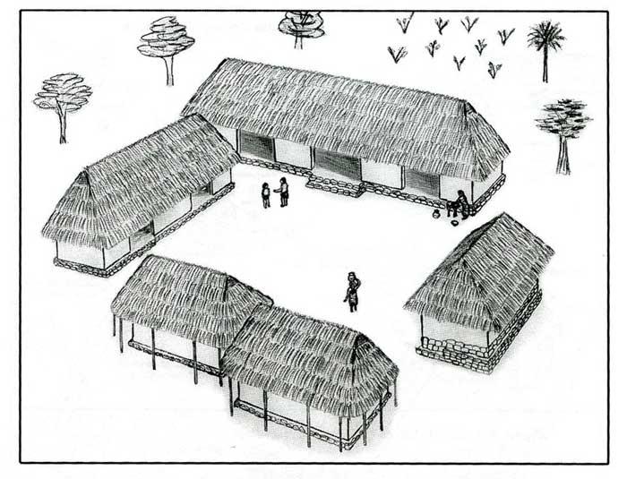 Incredible Teaching The Maya Resource A Maya Farmers House Download Free Architecture Designs Itiscsunscenecom