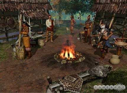 Native american computer games