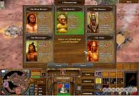 Pic 12: Screenshot of a player selecting a council member upon reaching the 'Colonial Age'