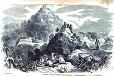 Pic 4: 'General View of Palenque' - frontispiece of 'Incidents of Travel in Central America'