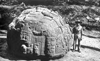 Pic 18: Monolithic sculpture at Quiriguá, Guatemala