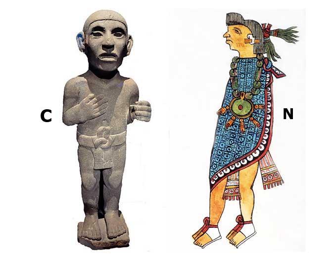 ancient aztec clothing - 675×534