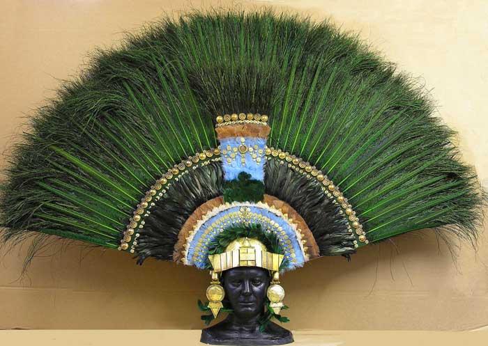 aztec headdress how to make
