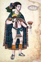 Pic 7: Netzahualpilli, Codex Ixtlixochitl sheet 108r