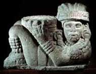Pic 7: Late Postclassic Aztec chac mool, National Museum of Anthropology, Mexico City