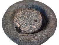 Pic 8: 'Cuauhxicalli' bowl, National Museum of Anthropology, Mexico City