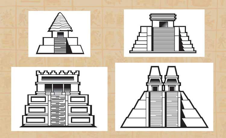 Basic Aztec facts: AZTEC TEMPLES