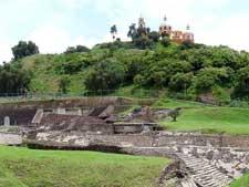 Pic 2: Cholula pyramid, Puebla, Mexico