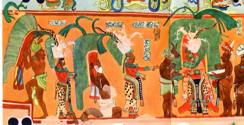 Most Famous Paintings About Mayans