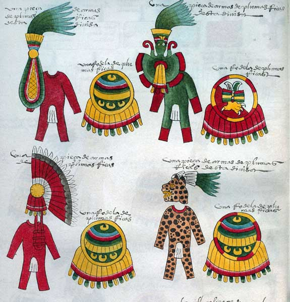 Ask The Experts Maya And Aztec Feather Headdresses